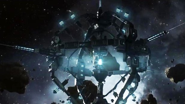 EVE Online - Ingame-Trailer zur Version 1.1 Rubicon