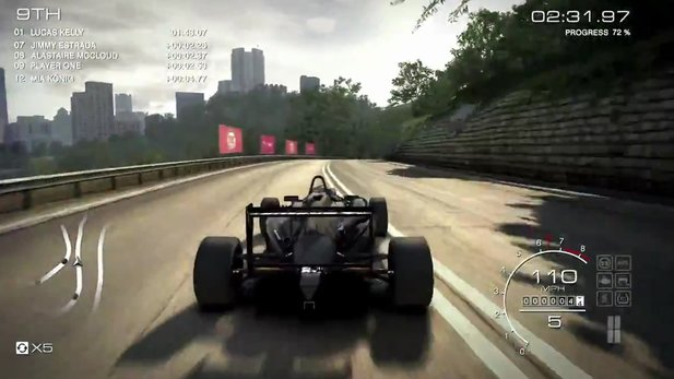 GRID: Autosport - Gameplay-Trailer: Mit der Dallara F312 durch Hongkong