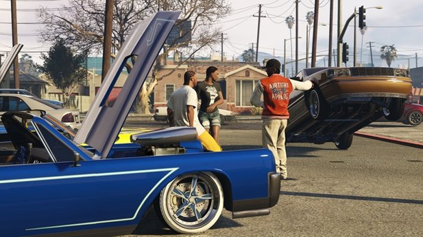 Für GTA Online gibt es ab sofort den neuen Adversary-Modus »In and Out«.
