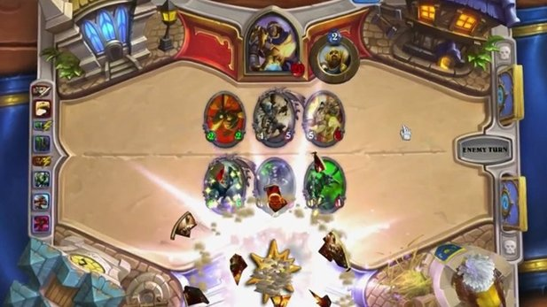 Hearthstone: Heroes of Warcraft - Gameplay-Video: Paladin gegen Krieger