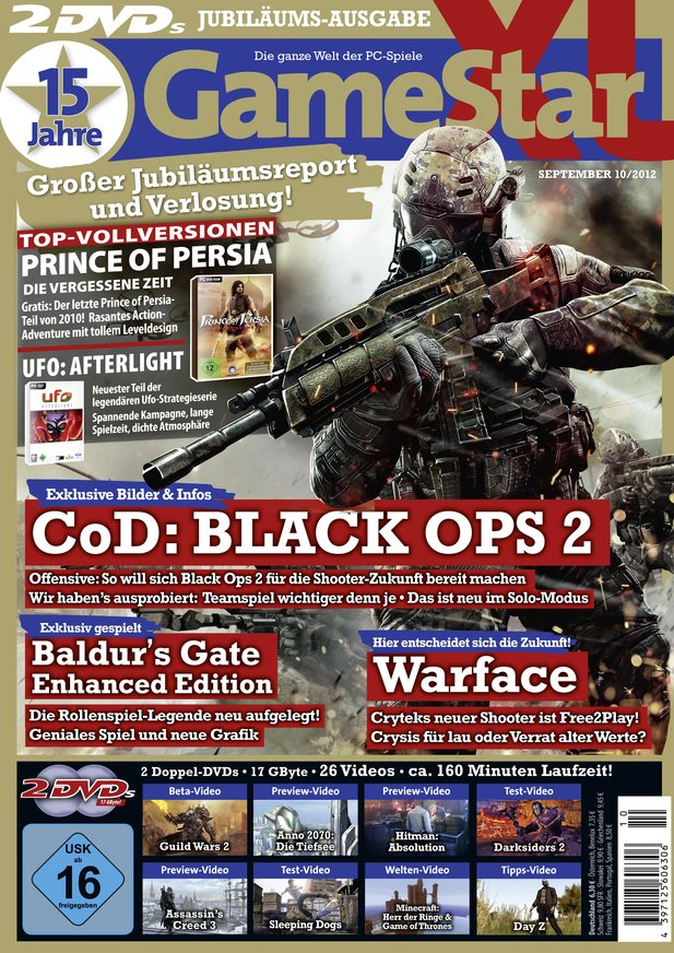 Cover der GameStar XL (10/12) - ab 28. August am Kiosk.
