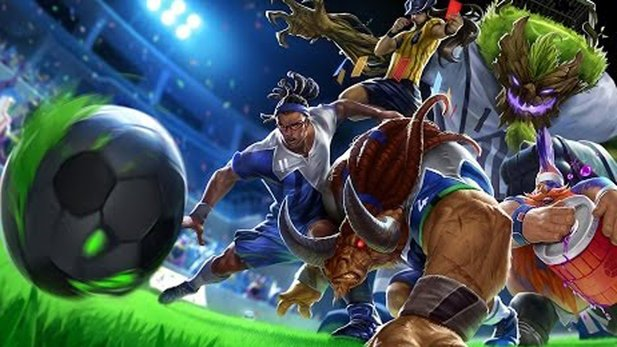League of Legends - Fußball-Trailer zu WM-Skins