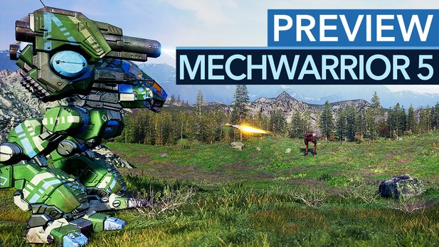 MechWarrior 5: Mercenaries - Preview-Video: Action per Zufall
