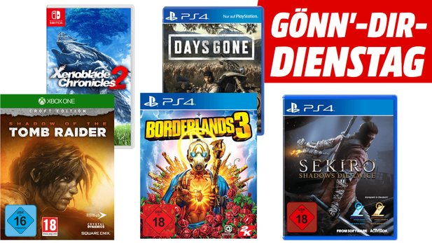 Borderlands 3 + Sekiro im Bundle