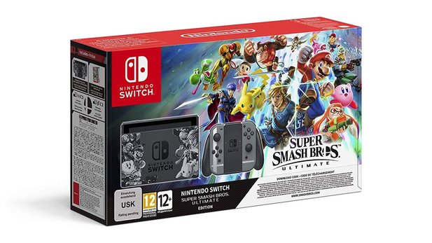 Nintendo Switch Super Smash Bros. Ultimate-Edition jetzt vorbestellen.