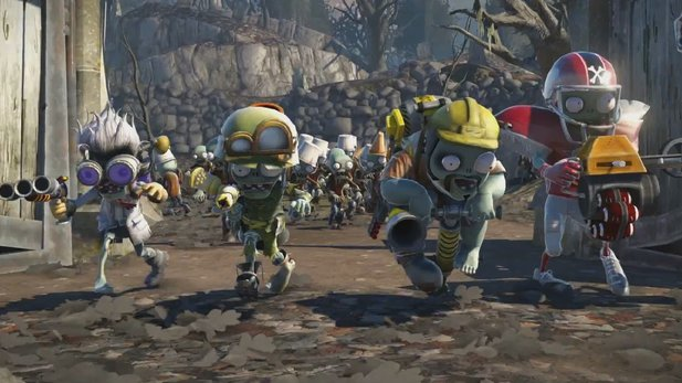 E3-Trailer von Plants vs. Zombies: Garden Warfare