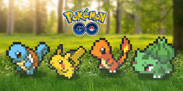 Niantic zeigt uns Pokémon Go am 1-. April in einem Retro-Look.
