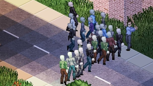 Project Zomboid - Gameplay-Video: 15 Minuten Zombie-Panik