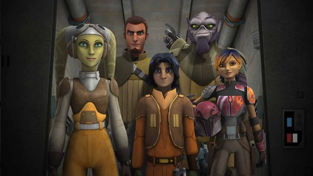Star Wars Rebels - Trailer zur zweiten Staffel der Animationsserie