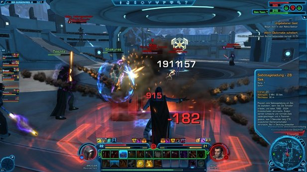 In Wars: The Old Republic gibt es bereits die ersten Level-50-Charaktere.
