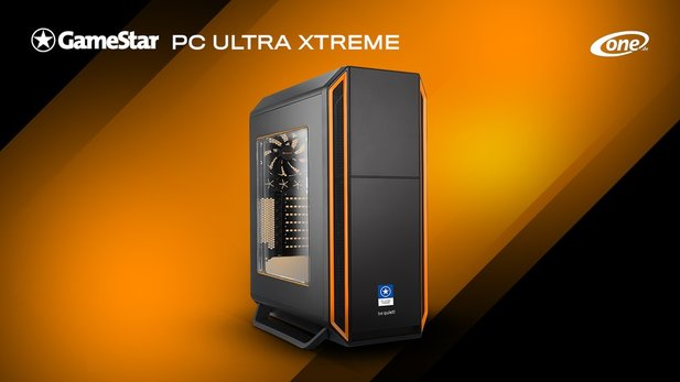 ONE GameStar-PC Ultra Xtreme - der meistverkaufte PC der GameStar-PC Familie hat Power ohne Ende: Intel Core i7 9700K und GeForce RTX 2080 ROG Strix OC