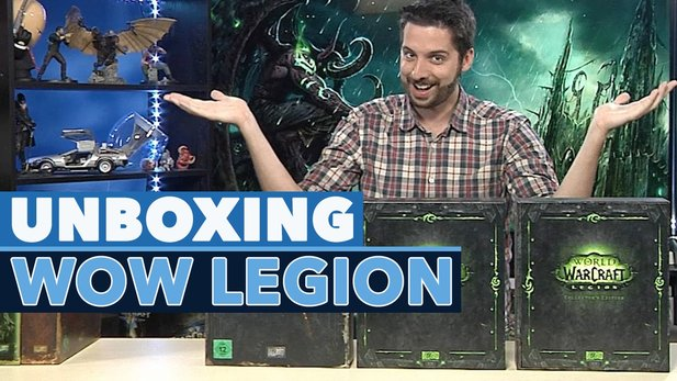 Unboxing World of Warcraft Legion - Das steckt in der Collector's Edition
