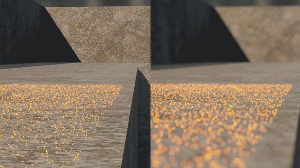 Particle Depth of Field