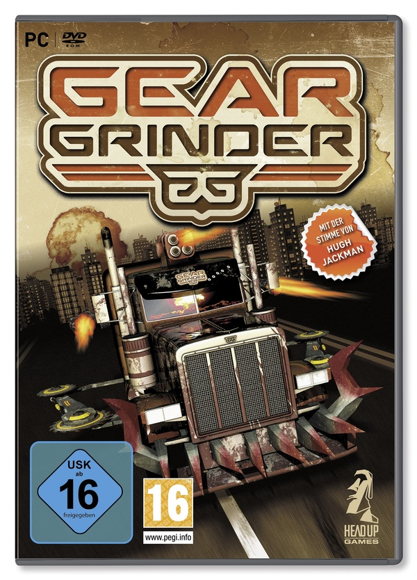 Cover zu Gear Grinder