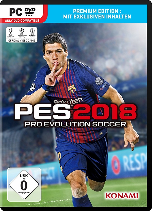 Cover zu Pro Evolution Soccer 2018
