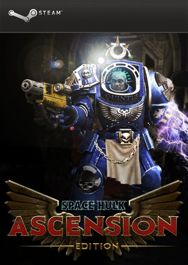 Cover zu Space Hulk Ascension Edition