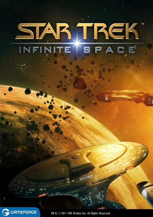 Cover zu Star Trek: Infinite Space
