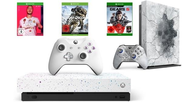 Xbox One X mit Call of Duty und FIFA 20, PS4 Pro - Konsolen bei Amazon