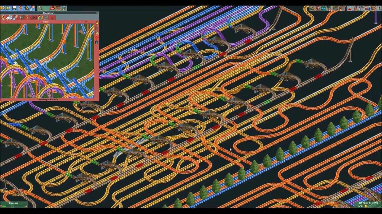 Rollercoaster Tycoon Fan Baut Taschenrechner Aus Achterbahn - Minecraft rollercoaster spielen