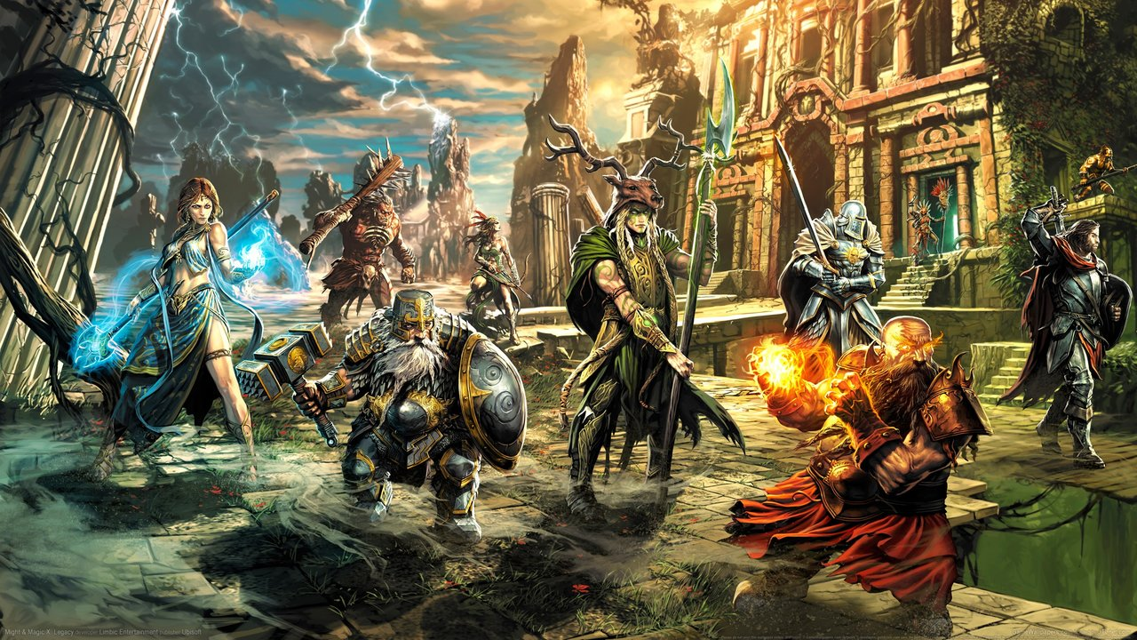 Wallpaper zu Might & Magic X Legacy herunterladen
