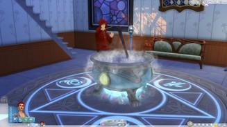Sims 4: Reich der Magie im Test - Fauler Zauber im Reich der ...