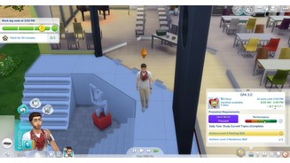 <b>Die Sims 4</b><br>Screenshots zur »Get to College«-Mod