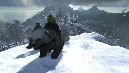 Ark: Survival Evolved - Trailer zum Update mit Broodmother Boss Arena und Direbear & Manta
