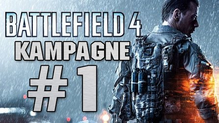 Battlefield 4 - Let's Play: Eine Stunde Solo-Kampagne #1 (Gameplay)