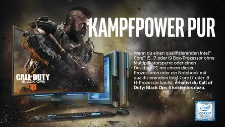 Call of Duty: Black Ops 4 als Vollversion - Jetzt bei allen ONE GameStar-PCs mit Core i7
