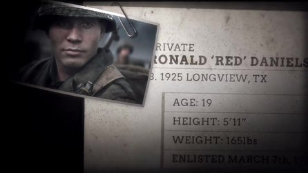 Call of Duty: WW2 - Trailer »Meet the Squad«: Red Daniels