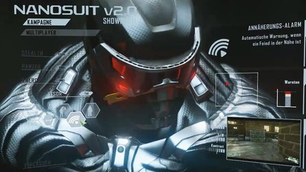 Crysis 2 - Video: Alle Funktionen des Nanosuit 2.0