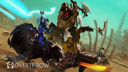 Dota 2 - Gameplay-Trailer zum Custom Game »Overthrow«