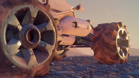 Mass Effect: Andromeda - In-Game-Video stellt Tempest und Nomad vor