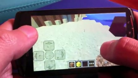 Minecraft - Video erklärt Touch-Steuerung der Pocket Edition
