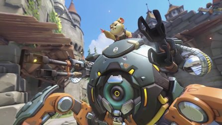 Overwatch - Hamster-Held Wrecking Ball rollt im Release-Trailer los