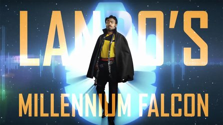 Solo: A Star Wars Story - Coole Video-Tour durch den Millennium Falken mit Donald Glover
