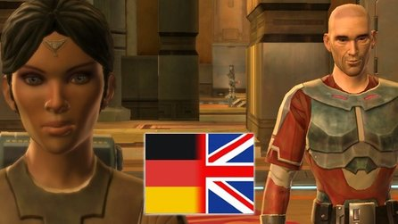 Star Wars: The Old Republic - Sprachvergleichs-Video: deutsch / englisch