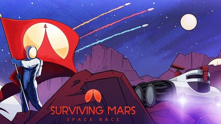 Surviving Mars: Space Race - Addon-Trailer zeigt den neuen Konkurrenzkampf