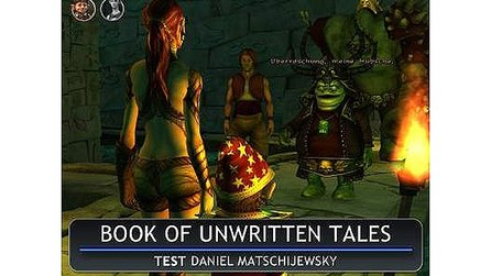 Book of Unwritten Tales - Test-Video zum witzigen Adventure