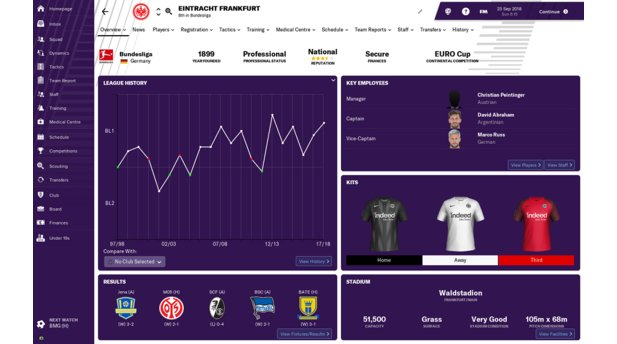 Football Manager 2019 - Bundesliga