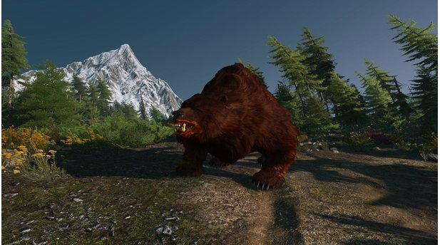 The Witcher 3 - Screenshots mit Nvidia Hairworks und HBAO+