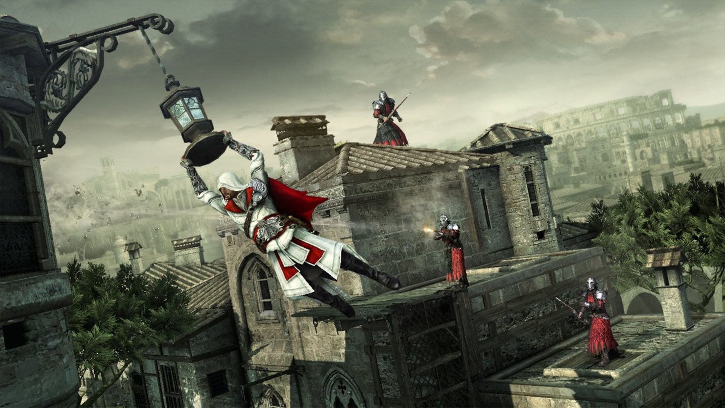 Assassin's Creed Brotherhood - Screenshots aus der Solo-Kampagne