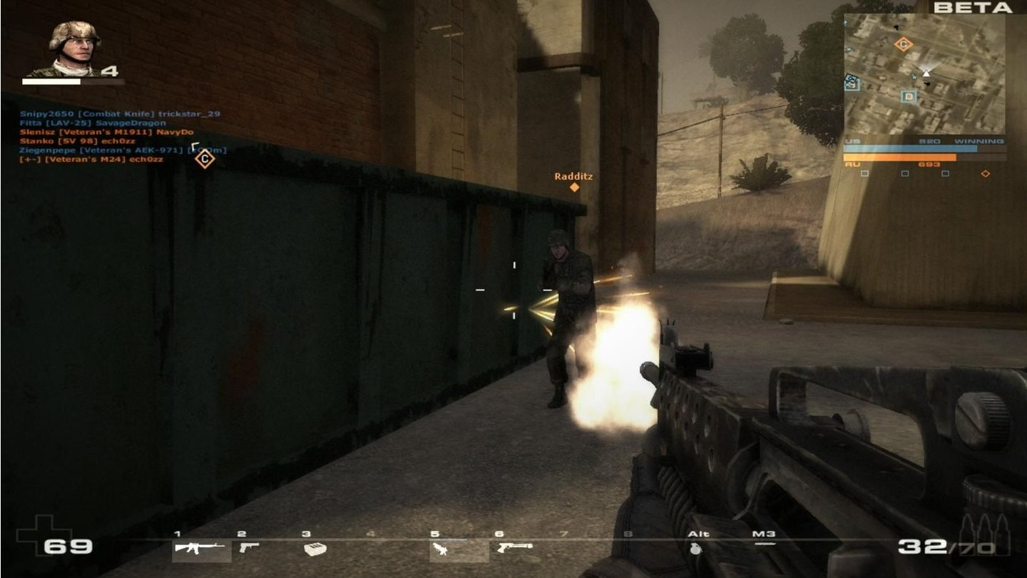 Battlefield Play4FreePC-Screenshots aus der Test-Version