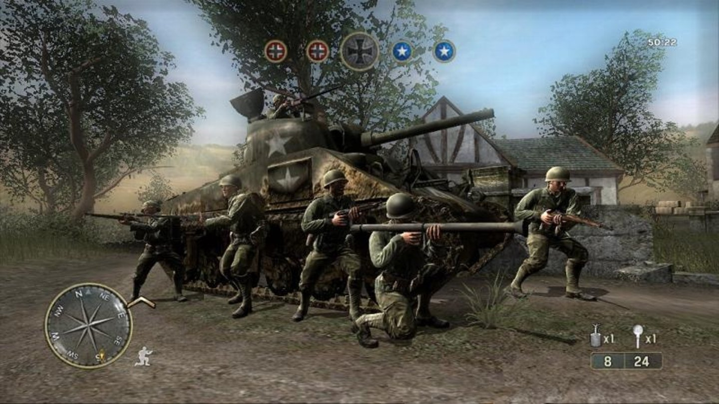 call of duty 3 wii 8