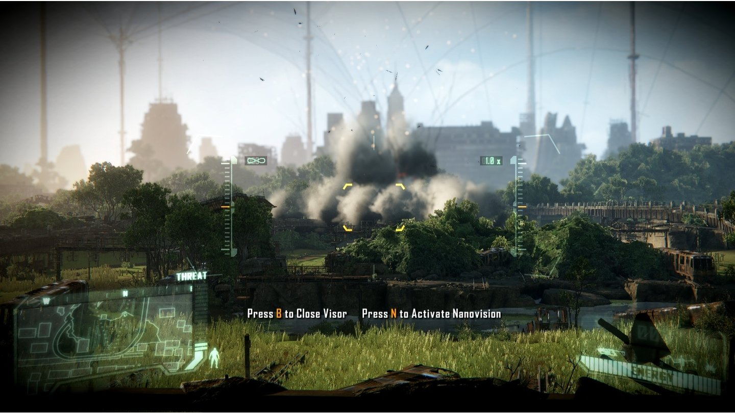 Crysis 3Screenshots aus der Test-Version