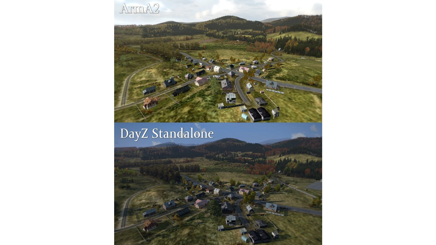 DayZ - Screenshots der Stand-Alone-Version