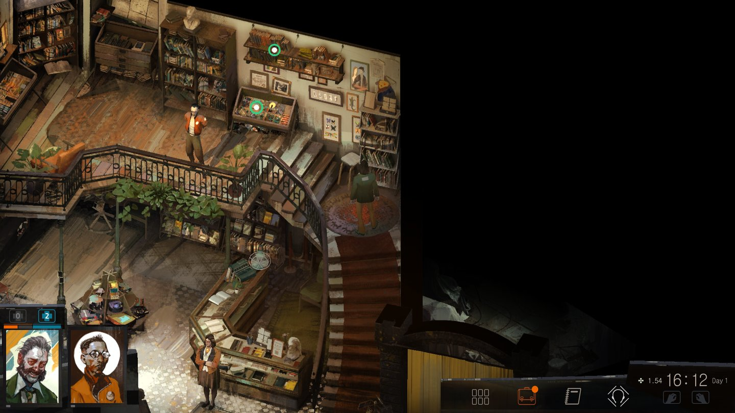 Disco Elysium - Screenshot
