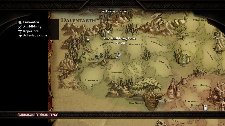 Kingdoms of Amalur: Reckoning - Screenshots on mortal kombat map, world of tanks map, star trek online map, max payne 3 map, dragon's dogma map, batman map, dark souls map, fallout map, men of war map, darksiders map, star wars map, warcraft 3 map, mass effect map, league of legends map, dead space map, dishonored map, dalentarth map, mel senshir map, gears of war map, call of duty map,