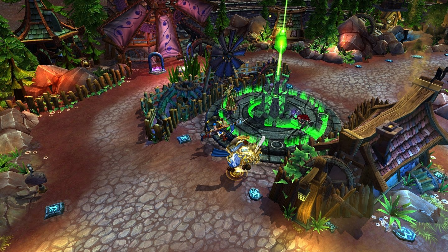 League of LegendsScreenshot vom Spielmodus »Dominion«