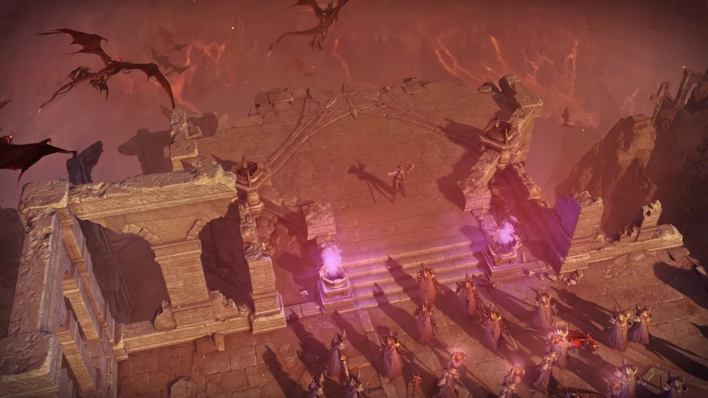 Lineage Eternal: Twilight Resistance - Screenshots aus den Gameplay-Trailern von 2016